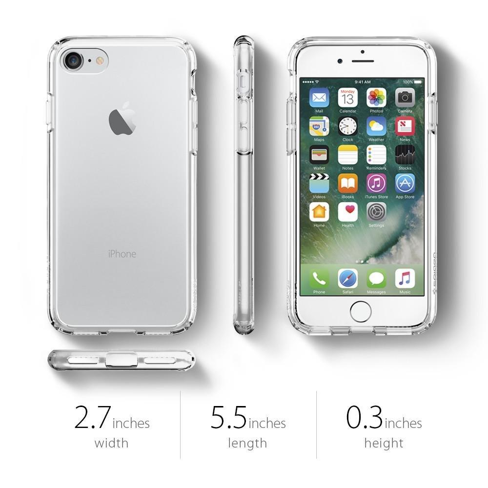 finest selection 68651 9f8da Spigen Ultra Hybrid Crystal Clear iPhone 7